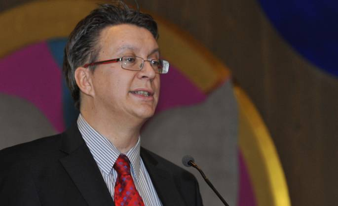 Kulturkommissionspräsident Jean-Pierre Thomsen