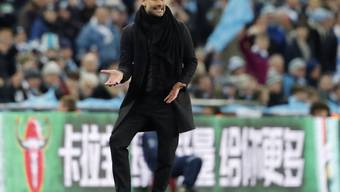 Pep Guardiola holte seinen ersten Titel mit Manchester City dank einem klaren Sieg im Liga-Cup-Final gegen Arsenal