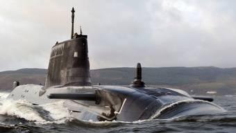 """Das Atom-U-Boot """"HMS Astute"""" unterwegs (Archiv)"""
