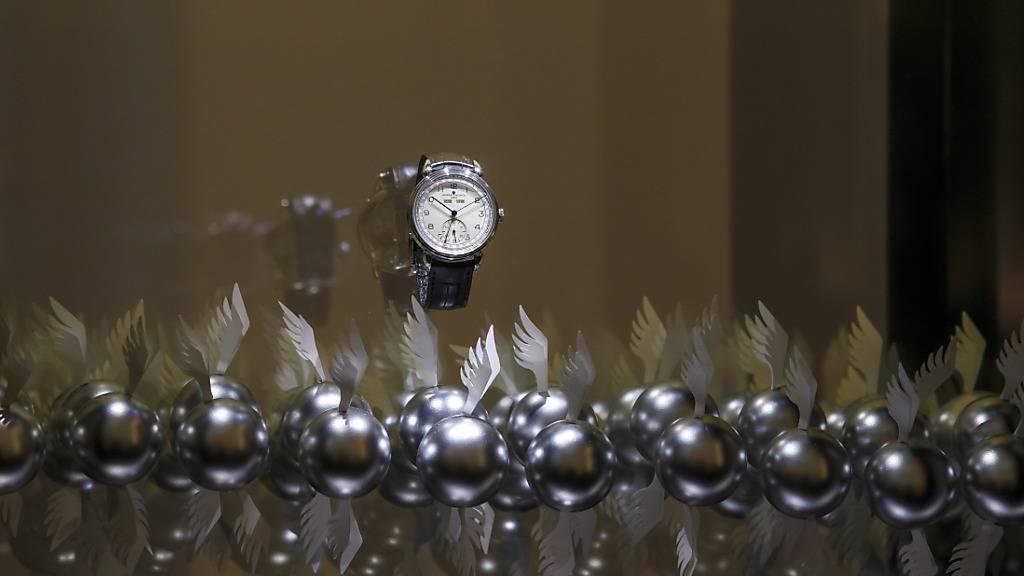 Uhrenexporte sinken im Januar noch um 11 Prozent