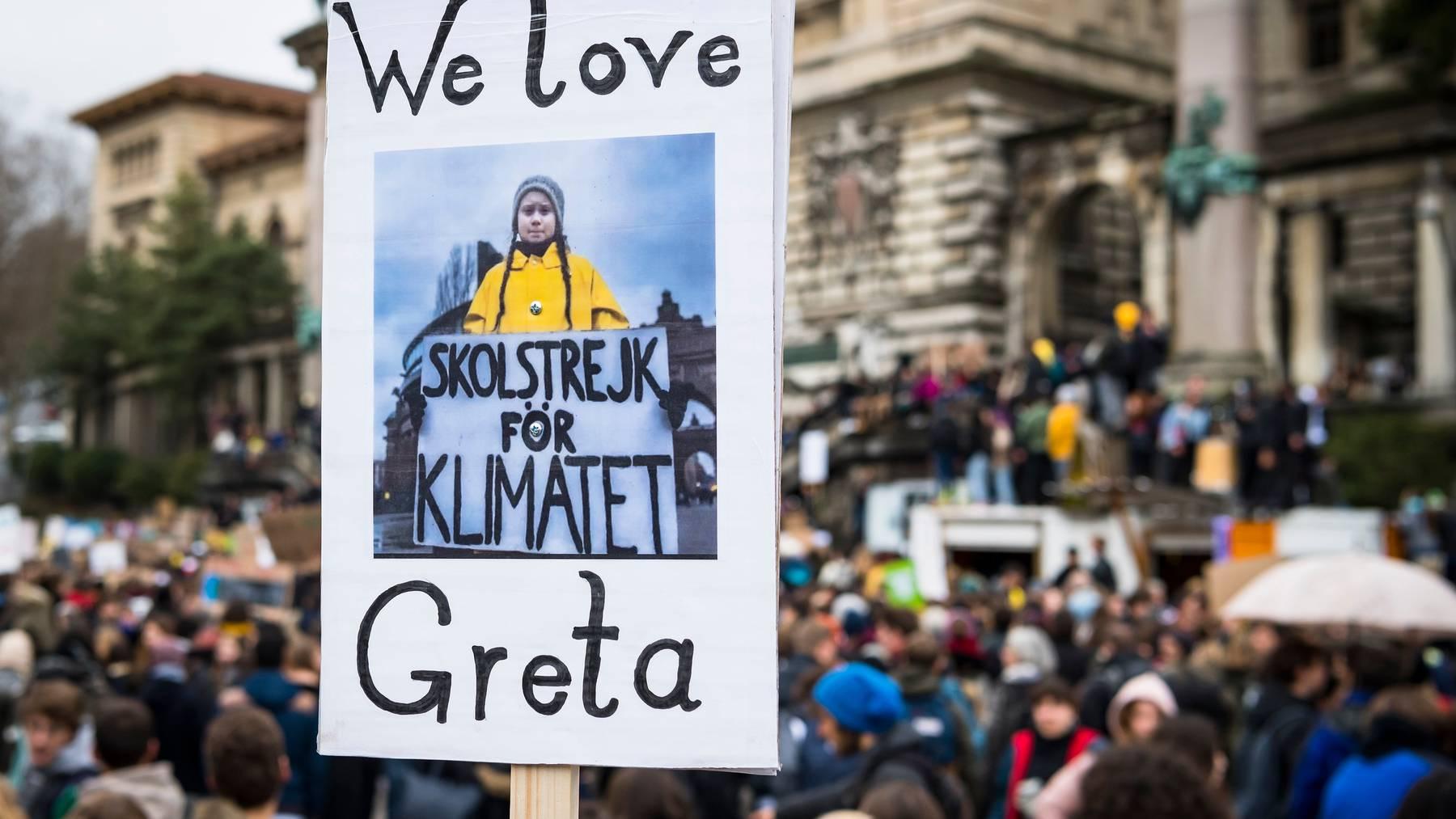Klimastreik Schweiz ist gegen das neue CO 2 -Gesetz. Die darin vorgesehenen Massnahmen seien ungenügend, kritisieren die Aktivisten. (Symbolbild)