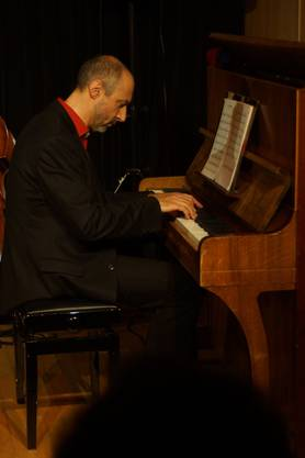 Pianist Stefan Stahel