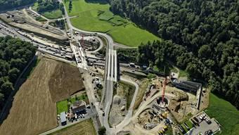Engpässe: Die Nordumfahrung Zürich wird auf sechs Spuren ausgebaut.