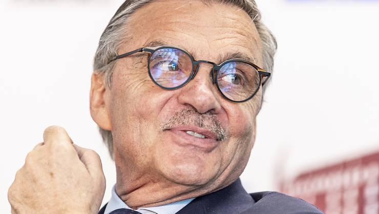 Neuwahlen verschoben: IIHF-Präsident René Fasel (70) bleibt wegen der Corona-Krise ein weiteres Jahr im Amt