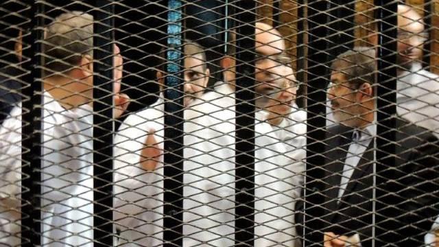 Muslimbrüder vor Gericht in Kairo (Archiv)
