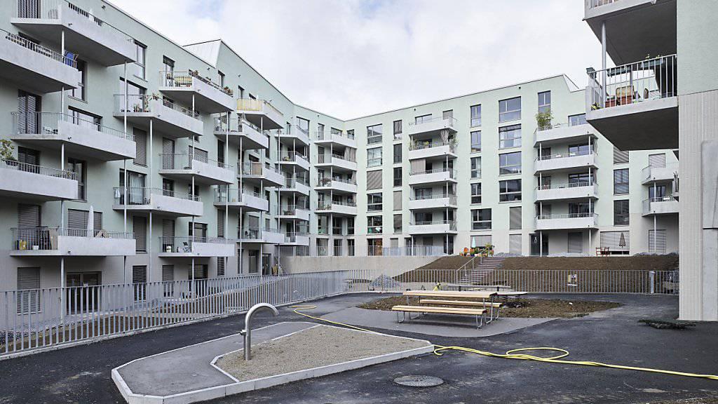 """Der Bund will mehr Geld für den gemeinnützigen Wohnungsbau zur Verfügung stellen. Die Mieterverbands-Initiative """"Mehr bezahlbare Wohnungen"""" lehnt er aber ab. (Archivbild)"""