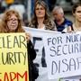 Demonstration gegen Atomwaffen. (Archivbild)