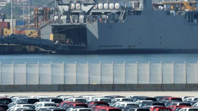 """Auf dem US-Schiff """"Cape Ray"""" wurden die Waffen zerstört (Archiv)"""