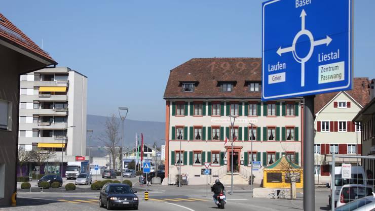 Das Dorfzentrum von Breitenbach