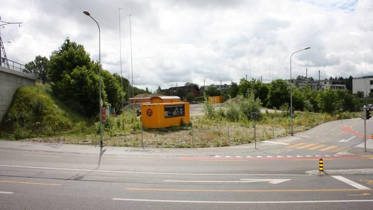 Das Kofmehl-Areal wartet immer noch auf das neue Coop-Center.