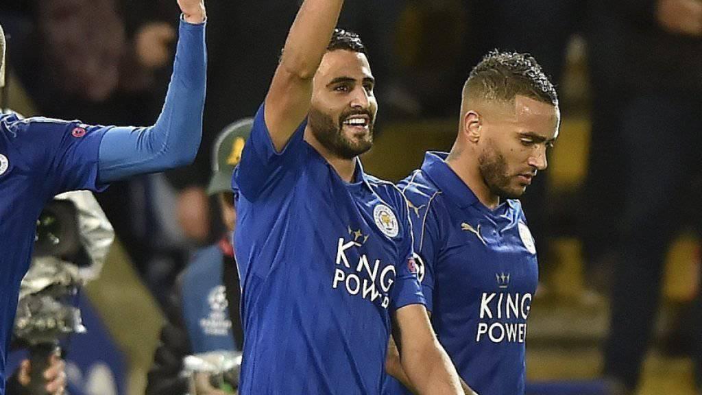Der englische Meister Leicester City zeigt in der Champions League und in der Premier League zwei unterschiedliche Gesichter