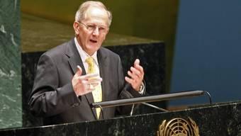 Er hat höchste Amt der Uno inne: alt Bundesrat Joseph Deiss (Archiv)