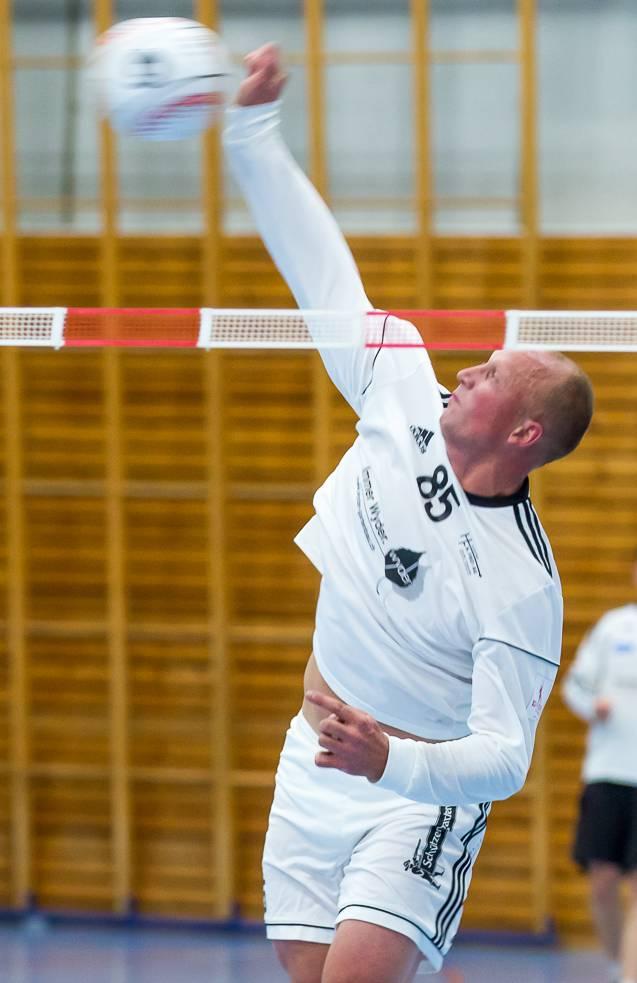 Der STV Oberentfelden - im Bild Nicolas Schwander - musste sich sowohl Diepoldsau als auch Neuendorf geschlagen geben.