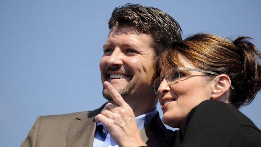 Nach einem Unfall liegt Todd Palin auf der Intensiv. Seine Frau Sarah Palin hofft auf schnelle Genesung (Archiv)