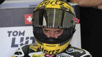 Tom Lüthi (29) dürfte mit seinem ersten Testtag in Jerez zufrieden sein
