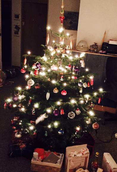 Der Christbaum von Nicole