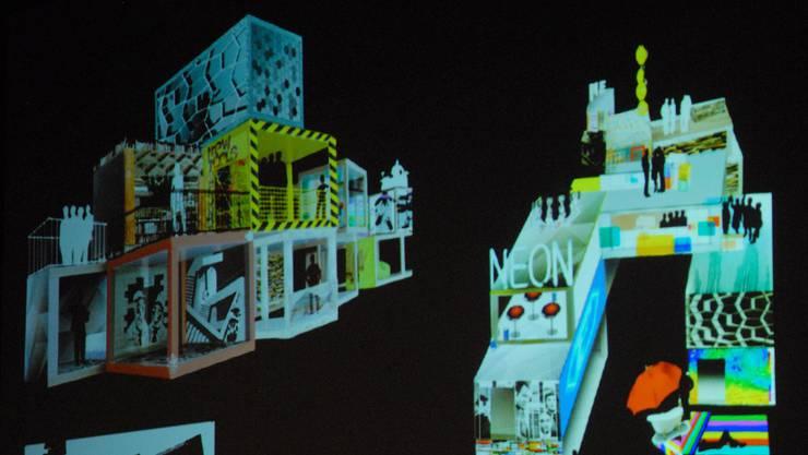 Stadtfest Präsentation Festbauten