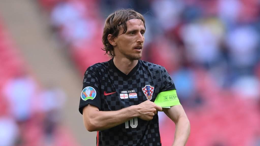 Luka Modric soll es einmal mehr für Kroatien richten