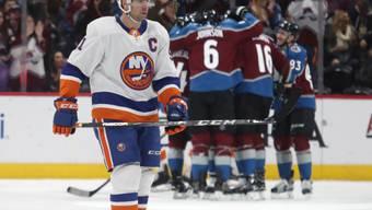 Colorado jubelt, die New York Islanders (im Vordergrund mit Captain John Tavares) verstehen die Welt nicht
