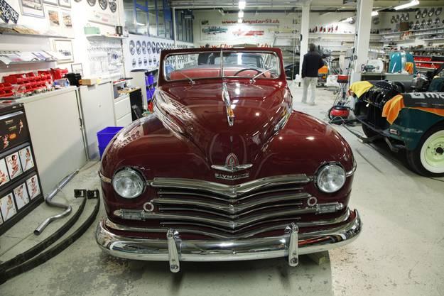 Fertig restauriert: der 47er Plymouth