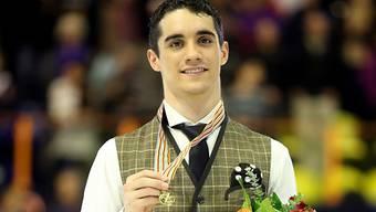 Javier Fernandez mit verdientem Gold