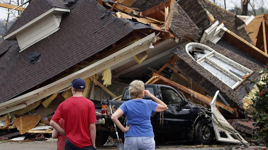 Mindestens fünf Tote nach Tornados im US-Bundesstaat Alabama