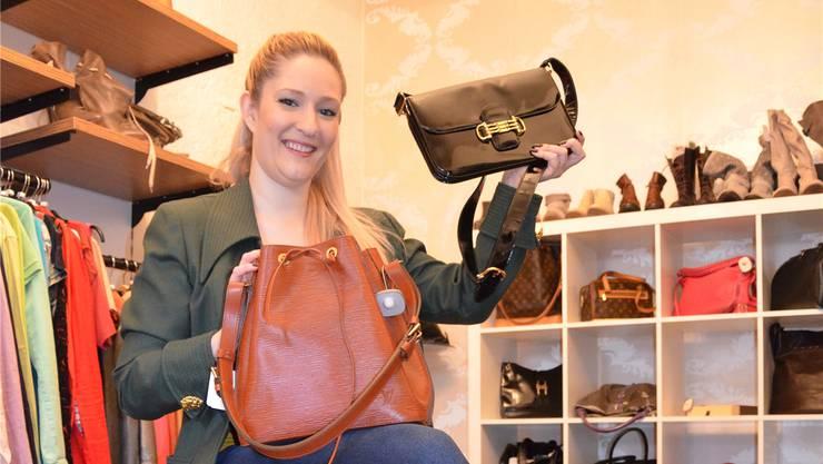 Für die kaufmännische Angestellte Tamara Hochuli ist die Boutique ein Hobby. jam