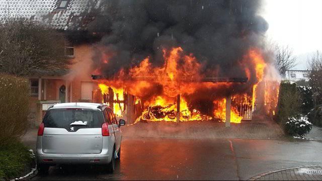 Brand in Hermetschwil