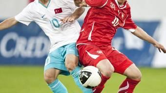 Die Schweizer U21-Auswahl verlor gegen die Türkei