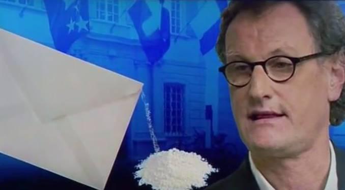 Polizeieinsatz wegen Brief mit verdächtigem Pulver an Geri Müller
