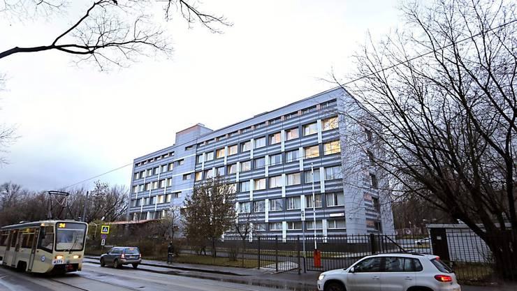 In diesem Gebäude ist russische Antidoping-Zentrum untergebracht