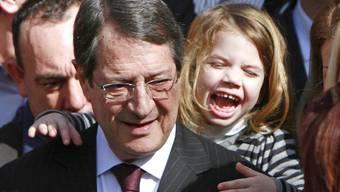 Der neue Staatschef Zyperns: Nikos Anastasiades