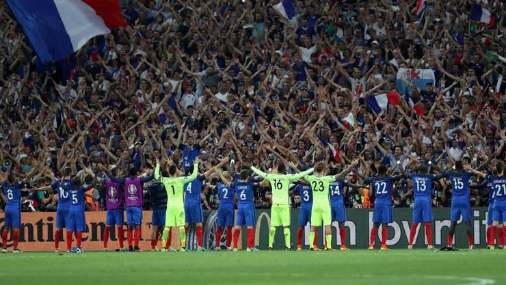 Frankreich feiert Isländisch - was in anderen Ländern nicht gut ankam.