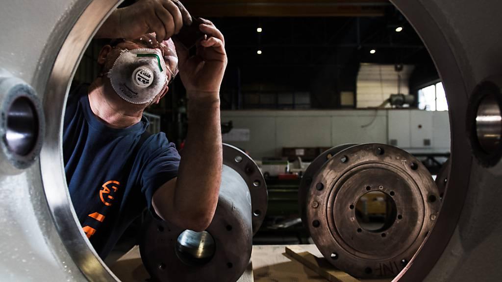 Nach dem Corona-Einbruch geht es für die kleinen und mittleren Firmen der Maschinen-, Elektro- und Metall-Industrie (MEM) steil bergauf: Die MEM-Branche befindet sich am Anfang eines Nachkrisen-Booms.