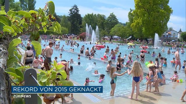 Rekord: 1.85 Millionen Badi-Besucher in der Stadt Zürich!