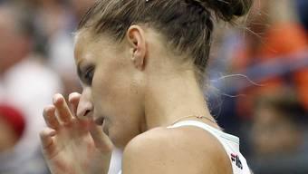 Im Viertelfinals gescheitert: die abtretende Nummer 1 Karolina Pliskova