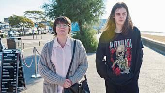 Mutter-Sohn-Ausflug: Sue und Daniel Bagnold.