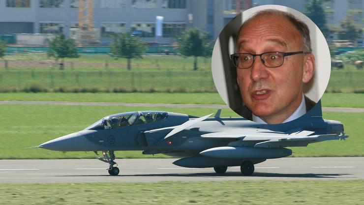 Baumann habe seine beruflichen Verbindungen zum schwedischen Kampfjethersteller Saab verschwiegen, so der Vorwurf aus Österreich.