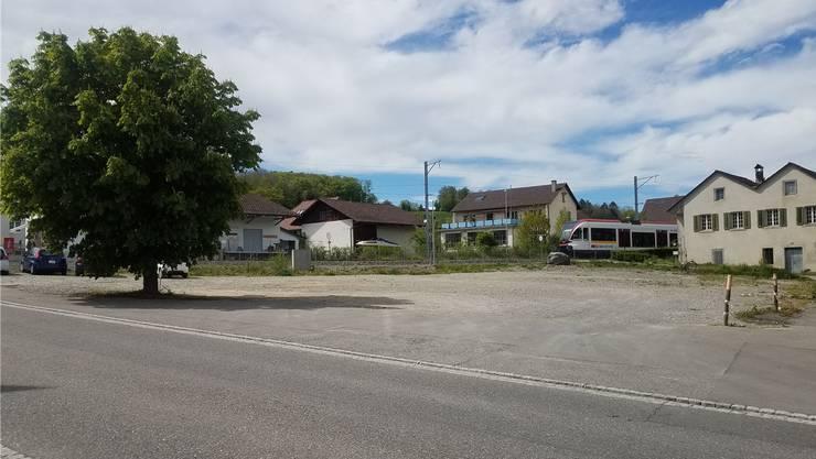 2014 wurde der «Ochsen» abgerissen. Bald werden hier 31 Wohnungen gebaut.