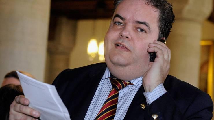 Thomas Fuchs rückt für den in den Ständerat gewählten Adrian Amstutz in den Nationalrat nach. key