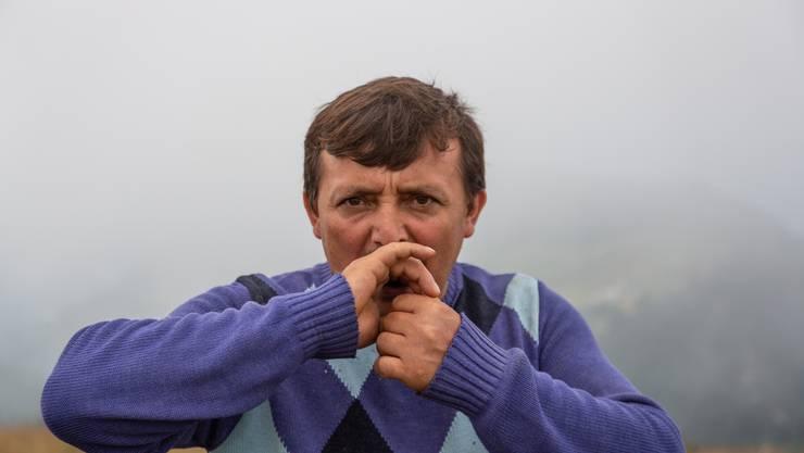 Yilmaz Civeleks Rufe reisen weit auf dem Alaca-Plateau. (Bilder: Bradley Secker/dpa/keystone)