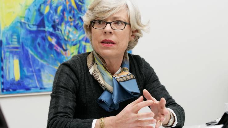 «Unser Kerngeschäft ist die Medizin.» Rita Ziegler, Vorsitzende der Spitaldirektion.Archiv