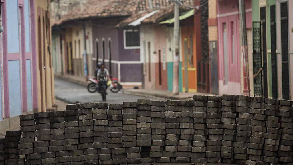 Nach wochenlangen Protesten in Nicaragua haben die Konfliktparteien erneut Gespräche vereinbart. (Archivbild)