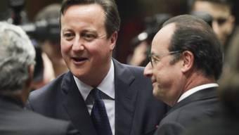 Der britische Premierminister David Cameron am EU-Gipfel in Brüssel: Er zeigte sich zuversichtlich, dass seine Forderungen für eine EU-Reform in der EU Gehör finden.