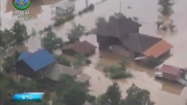 Laos: Video zeigt Ausmass der Dammbruch-Katastrophe