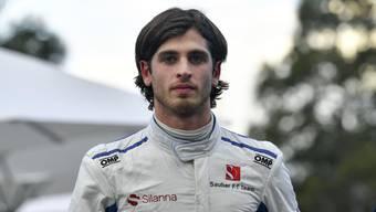 Antonio Giovinazzi konnte in Australien mit Sauber überzeugen.