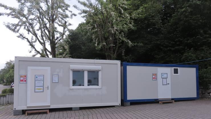 Die externe Covid-19-Abklärungsstation befindet sich  an der Leutholdstrasse in Biberist.