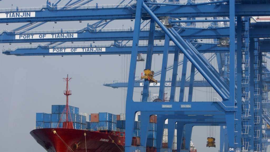 Chinas Exporte unerwartet stark