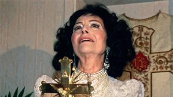 Uriella ist mit 90 Jahren gestorben. So kannte man die Verstorbene, die sich selbst für das Sprachrohr Gottes hielt. Ein Bild aus dem Jahr 1999.