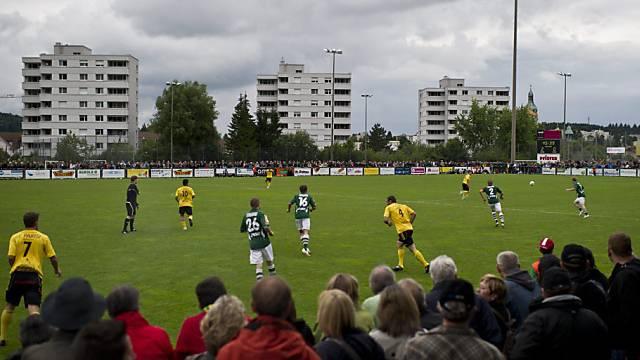 Das Paul-Grüninger-Stadion entspricht den Auflagen nicht mehr